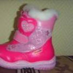Продаются ботинки зимние  на девочку