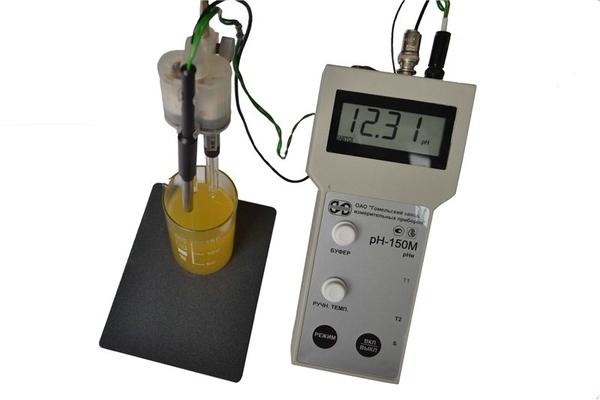 ph метр,  рн метр рН 150МП с поверкой.